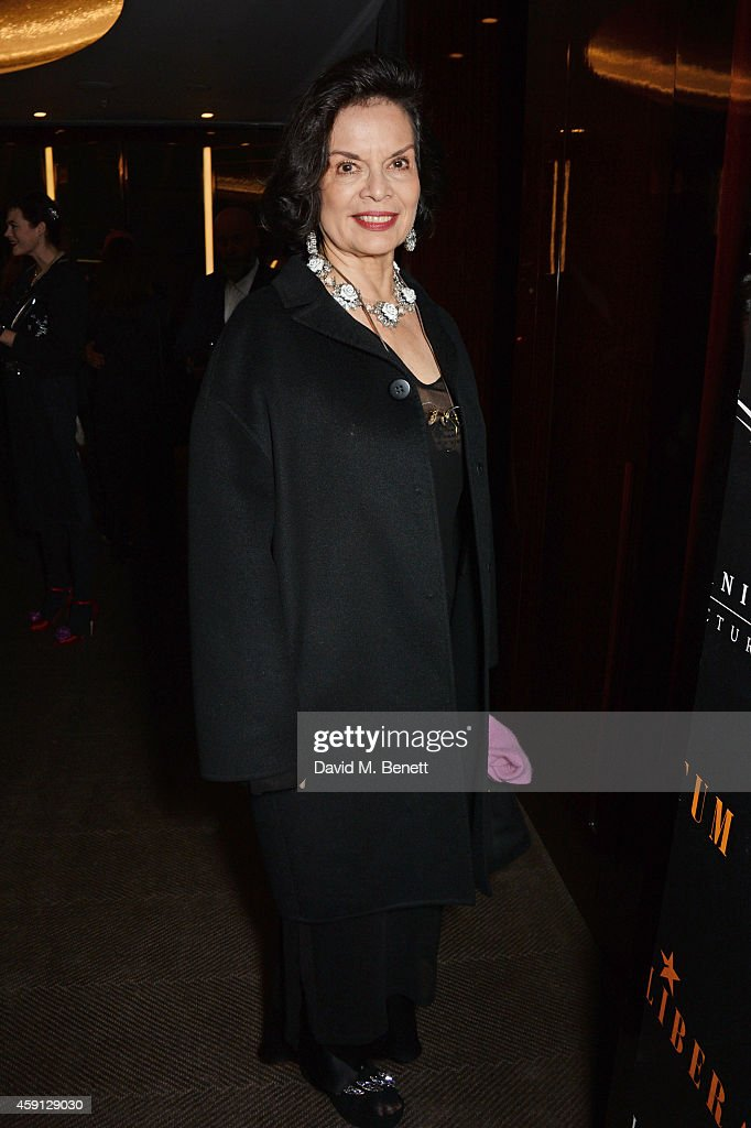 Bianca Jagger attends the Liberatum Cultural Honour for Francis Ford Coppola at The Bulgari Hotel on November 17, 2014 in London, England.