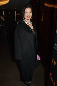 Bianca Jagger attends the Liberatum Cultural Honour for Francis Ford Coppola at The Bulgari Hotel on November 17 2014 in London England
