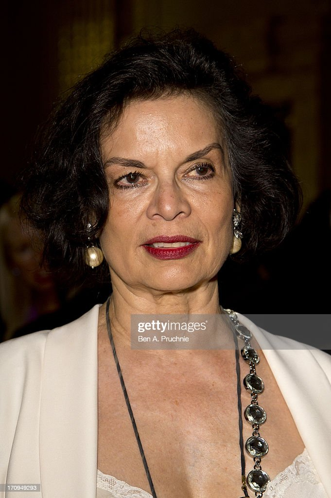 Bianca Jagger attends The New Statesman Centenary Party at Great Hall on June 20, 2013 in London, England.