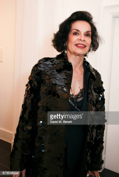 Bianca Jagger attends the opening of Galerie Thaddaeus Ropac London on April 26 2017 in London England