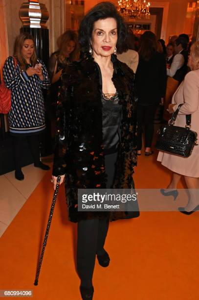 Bianca Jagger attends the Veuve Clicquot Business Woman Awards at Claridge's Hotel on May 9 2017 in London England