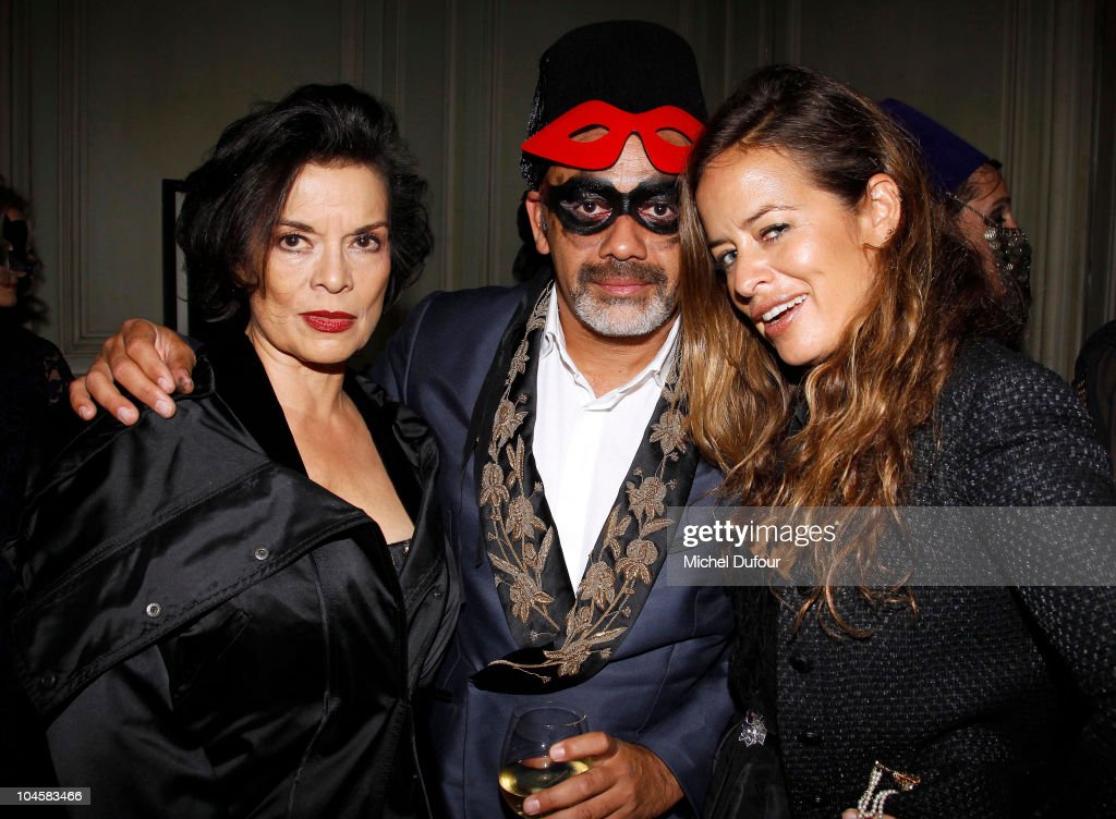 Bianca Jagger Christian Louboutin and Jade Jagger attend Vogue 90th Anniversary Party as part of Ready to Wear Spring/Summer 2011 Paris Fashion Week...