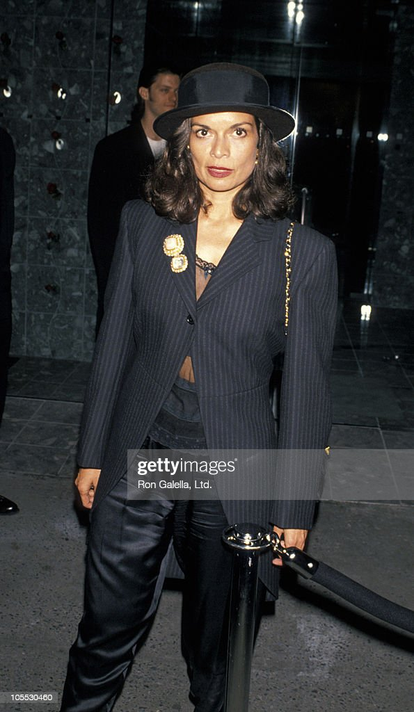 Bianca Jagger during Paris Haute Couture Fashion Show and Cocktail Party at Paramount Hotel in New York City New York United States