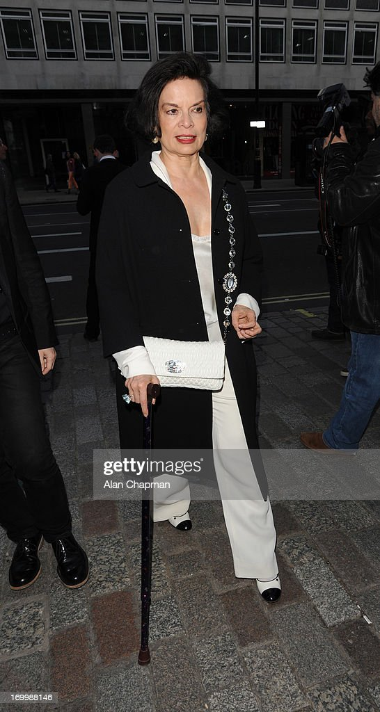 Bianca Jagger sighting at The Royal Academy of Arts Summer Exhibition on June 5, 2013 in London, England.