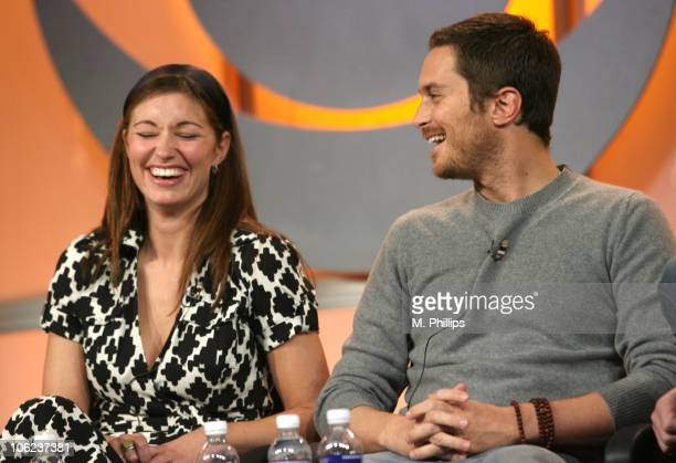 Bianca Kajlich and Oliver Hudson of 'Rules of Engagement'