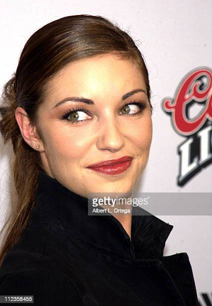 bianca kajlich during halloween resurrection premiere at manns festival theater in westwood california united - Bianca Kajlich Halloween