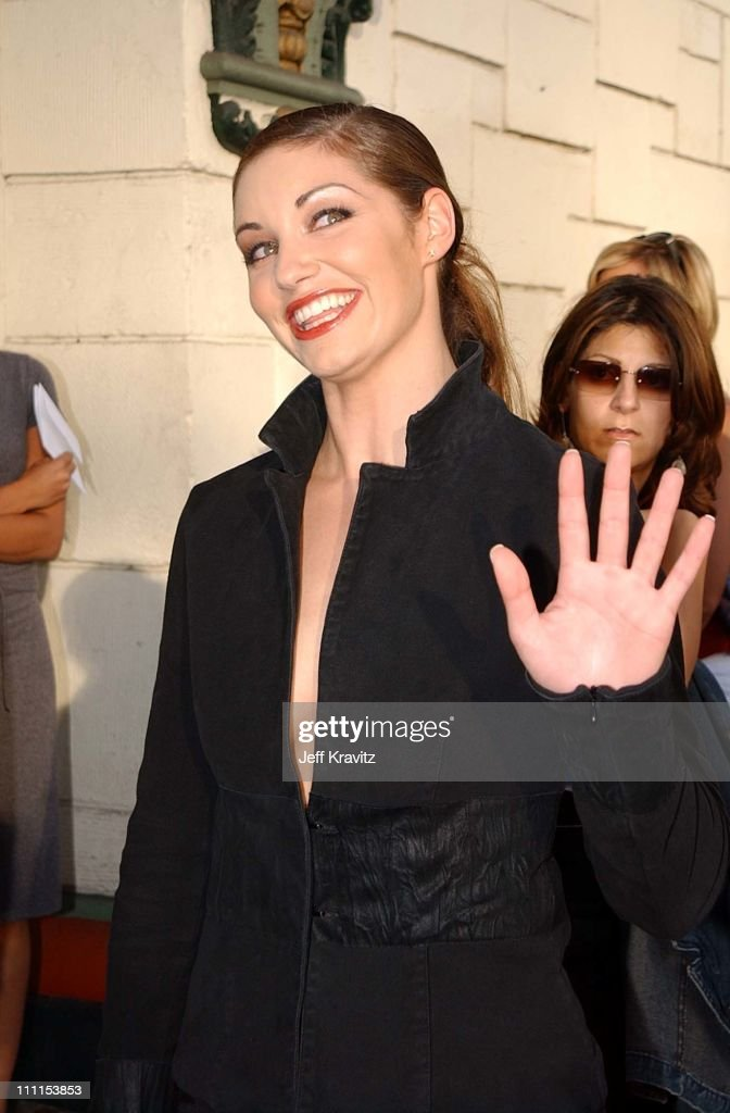 bianca kajlich during premiere of dimensions films halloween resurrection in los angeles california united - Bianca Kajlich Halloween