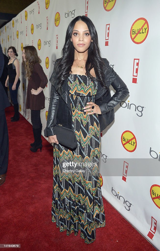 <a gi-track='captionPersonalityLinkClicked' href=/galleries/search?phrase=Bianca+Lawson&family=editorial&specificpeople=3141410 ng-click='$event.stopPropagation()'>Bianca Lawson</a> arrives at the Los Angeles Premiere of 'Bully' at Mann Chinese 6 on March 26, 2012 in Los Angeles, California.