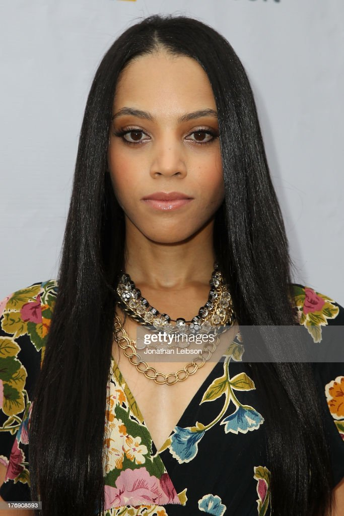 Bianca Lawson attends the Microsoft & Friends To Mankind Present: 18for18 Benefiting The Somaly Mam Foundation At The Microsoft Experience - Venice Beach on August 18, 2013 in Venice, California.