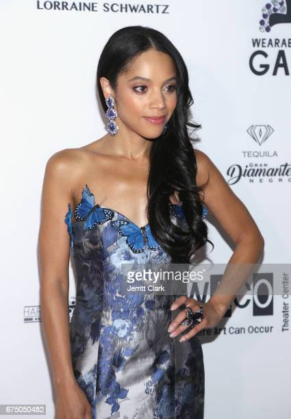 Bianca Lawson attends the Wearable Art Gala Arrivals at California African American Museum on April 29 2017 in Los Angeles California