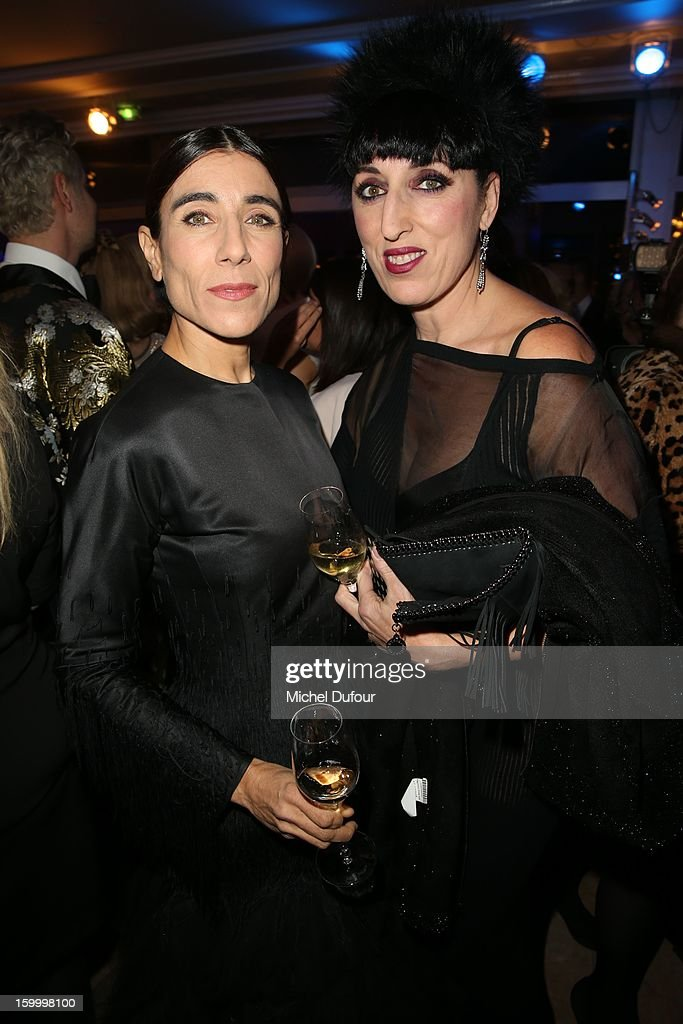 Bianca Li and <a gi-track='captionPersonalityLinkClicked' href=/galleries/search?phrase=Rossy+de+Palma&family=editorial&specificpeople=624132 ng-click='$event.stopPropagation()'>Rossy de Palma</a> attend the Sidaction Gala Dinner 2013 at Pavillon d'Armenonville on January 24, 2013 in Paris, France.