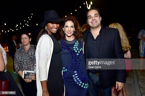 Bianca Morrison Kim Caceres and Gonzalo Casini attends Interview Tiffany Co Celebrate Paloma Picasso and her 35 Years with Tiffany Co at 1 Hotel...