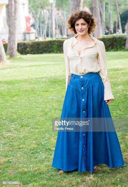 Bianca Nappi attends the photocall of 'La mia famiglia a soqquadro'