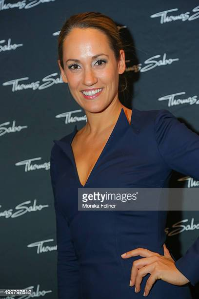 Bianca Schwarzjirg attends the Thomas Sabo Brand Event at Park Hyatt on December 3 2015 in Vienna Austria