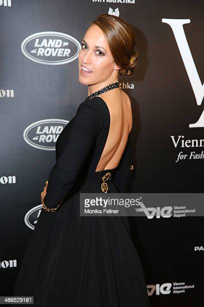 Bianca Schwarzjirg attends the Vienna Awards 2014 at MAK Museum fuer angewandte Kunst on April 24 2014 in Vienna Austria