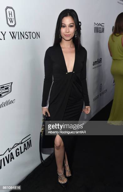Bianca Stam attends the amfAR Gala Los Angeles 2017 at Ron Burkle's Green Acres Estate on October 13 2017 in Beverly Hills California