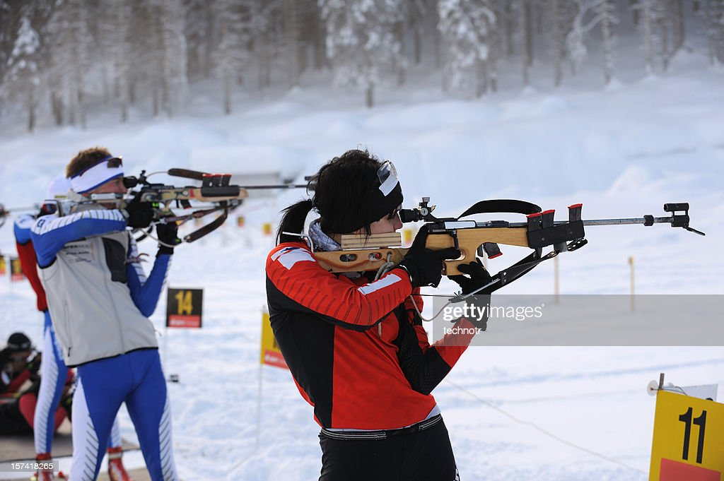 Biathlon practice