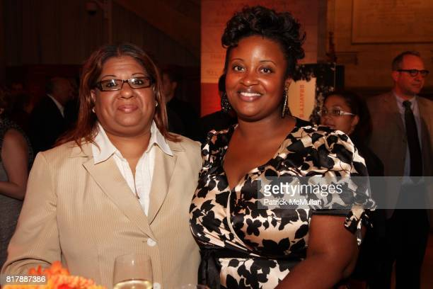 Bibi Baksh and Niemah Thomas attend Penguin Books Celebrates 75 Years at New York Public Library on September 23 2010 in New York