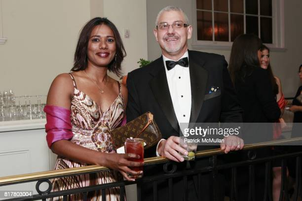 Bibi Mohamed and Bruce Schneider attend THE 38TH ANNUAL KIPS BAY DECORATOR SHOW HOUSE Preview and Dinner Celebrating Women In Design at 106 East 71st...