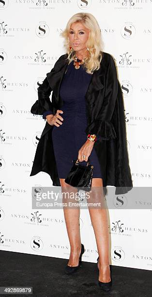 Bibiana Fernandez attend Anton Heunis Jewelry 10th anniversary on May 21 2014 in Madrid Spain