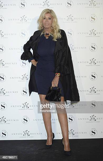 Bibiana Fernandez attends Anton Heunis Jewelry 10th anniversary at the Sala de Alhajas on May 21 2014 in Madrid Spain
