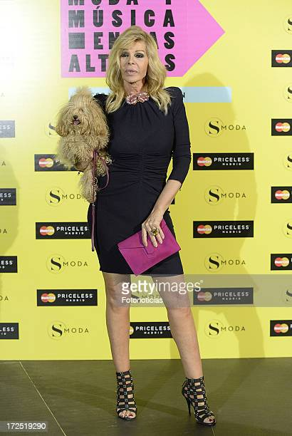 Bibiana Fernandez attends SModa Magazine cocktail party at the Urban Hotel on July 2 2013 in Madrid Spain