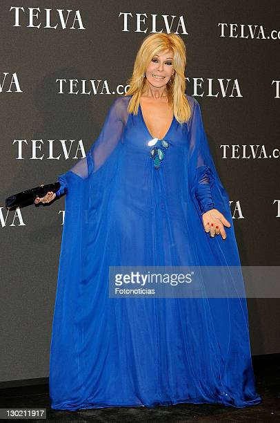 Bibiana Fernandez attends Telva Awards 2001 at the Palacio de Cibeles on October 24 2011 in Madrid Spain