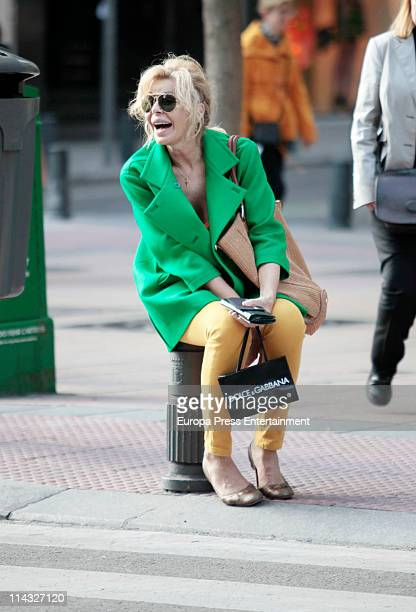 Bibiana Fernandez is seen sighting on May 18 2011 in Madrid Spain