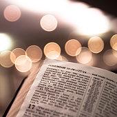 Bible and Bokeh