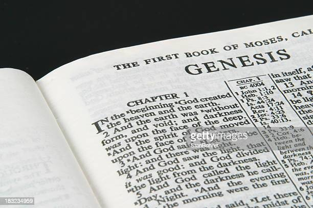Bible, Genesis, In the beginning God created....