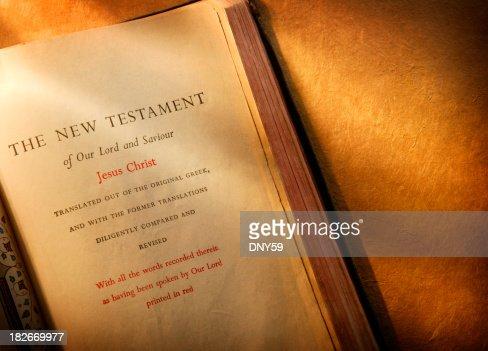 Bible Study : Stock Photo