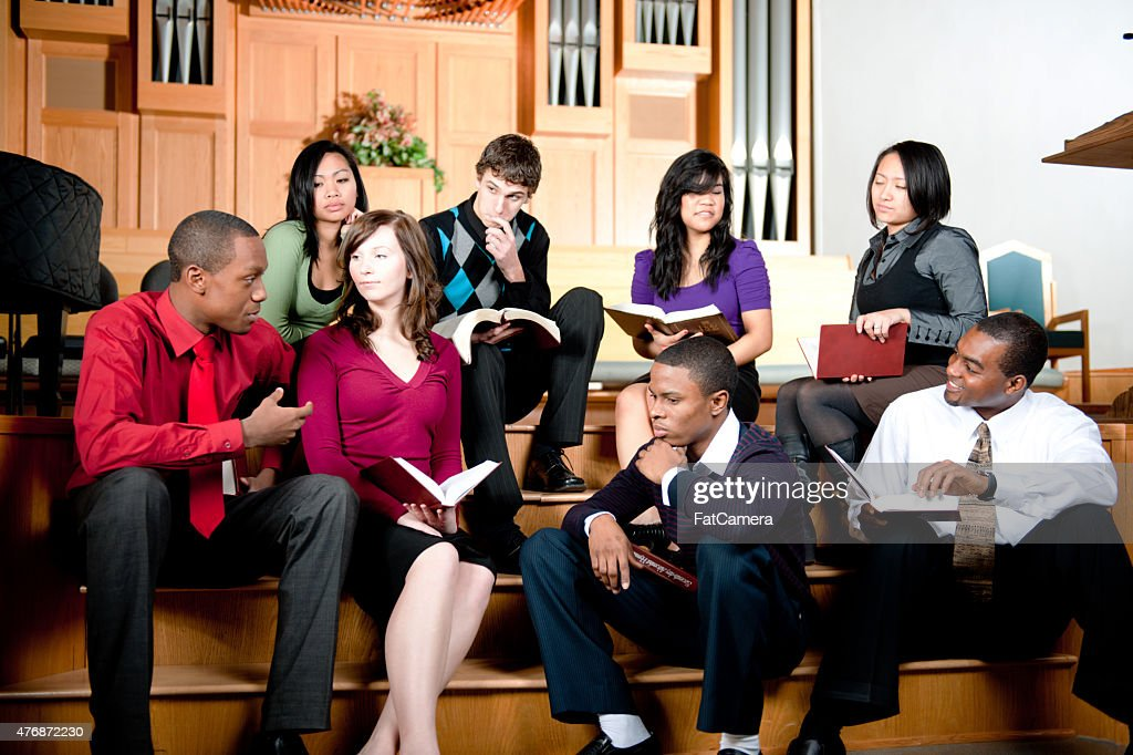 Bible Study : Stock Photo