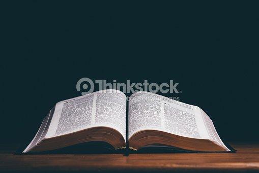 Biblia Abierta Stock Photo Thinkstock