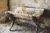 Biblical Manger Crib