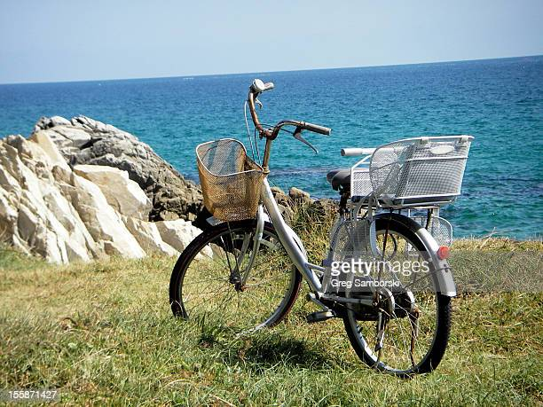 Bicycle by the Sea