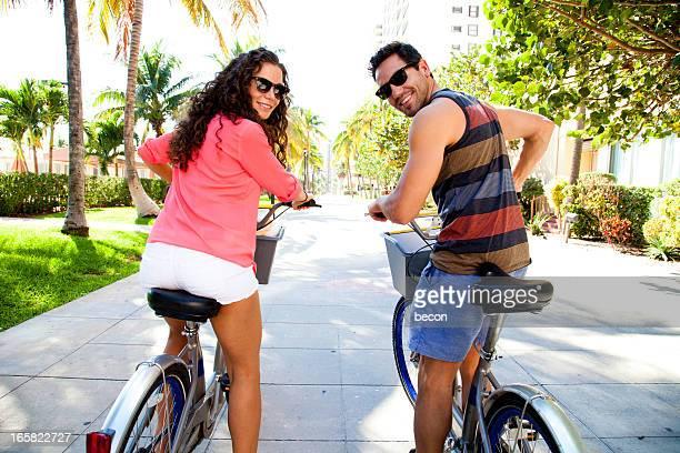 Bicycle Couple Miami