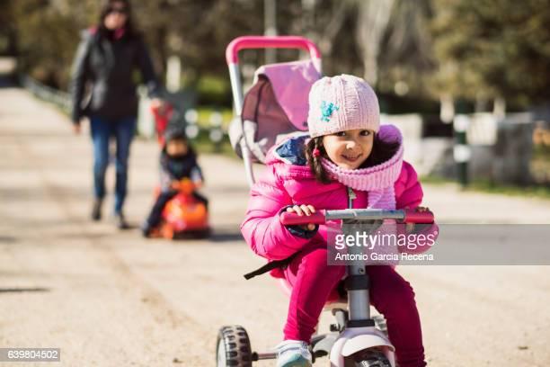 Bicycle fun in Santa Ana