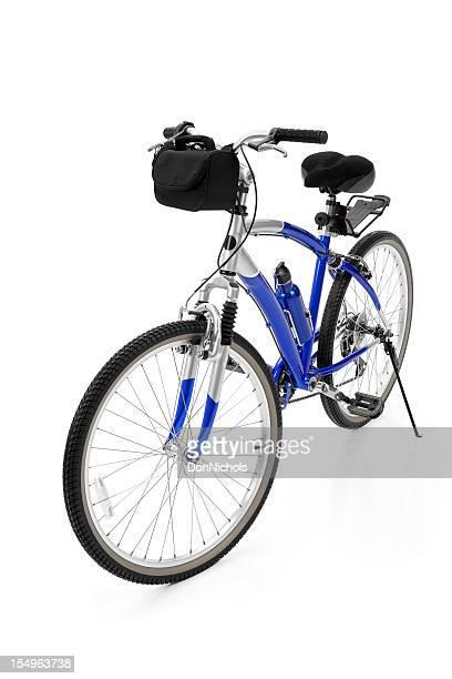 Fahrrad, isoliert auf weiss