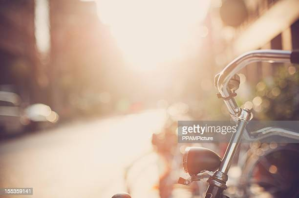 Bicicleta apoyarse