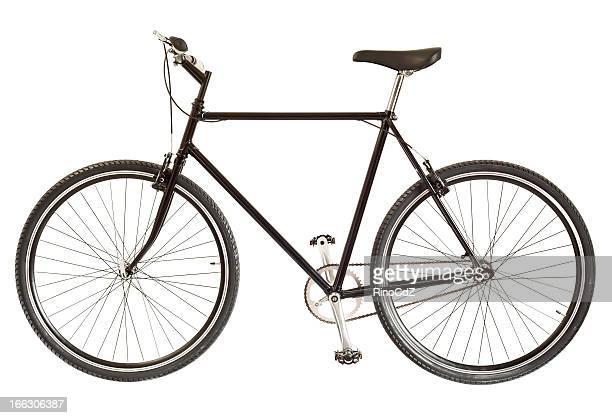 Vélo sur blanc