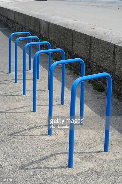 Bicycle parking, Jersey.
