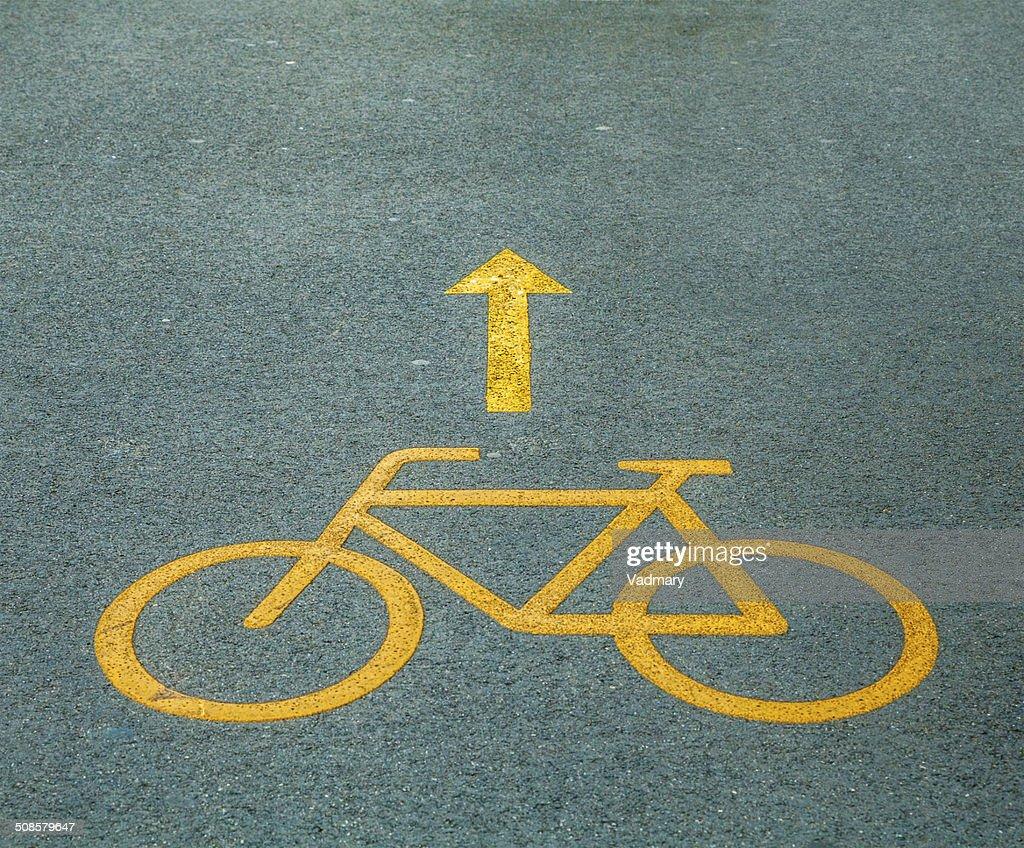 Bicycle path : Stockfoto