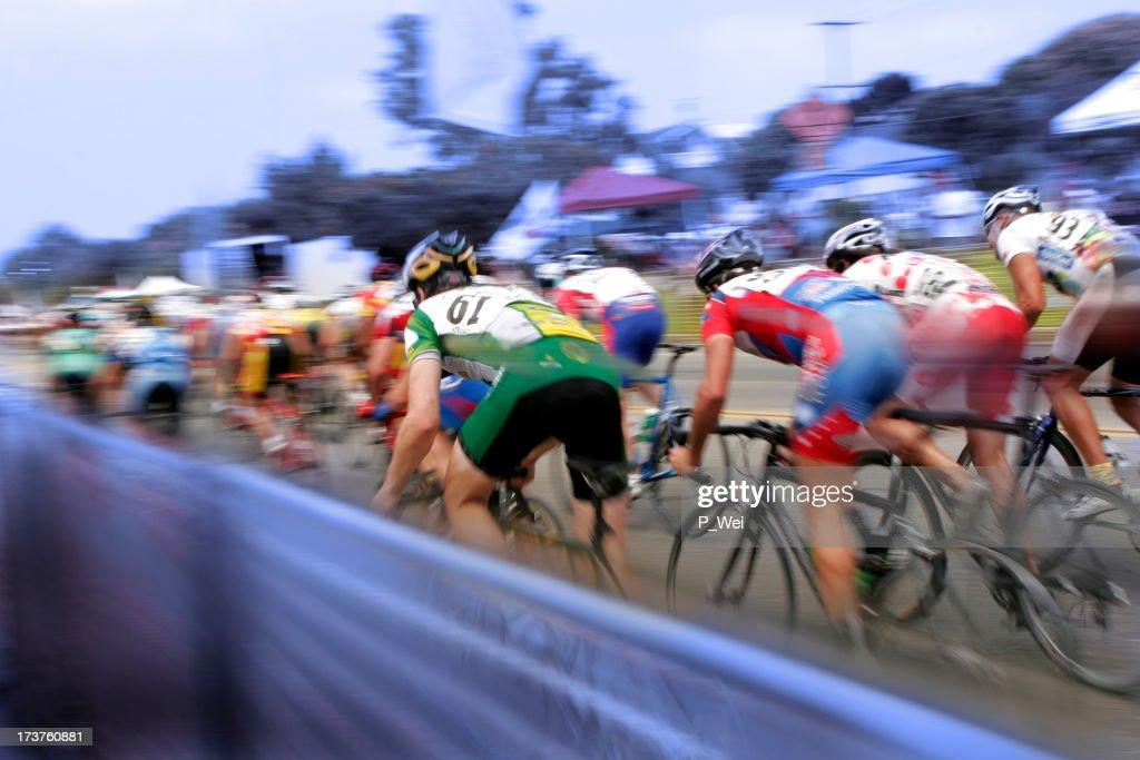Bicycle Race : Stock Photo