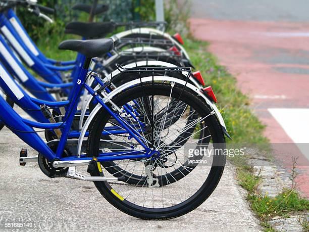 Bicycle rental point