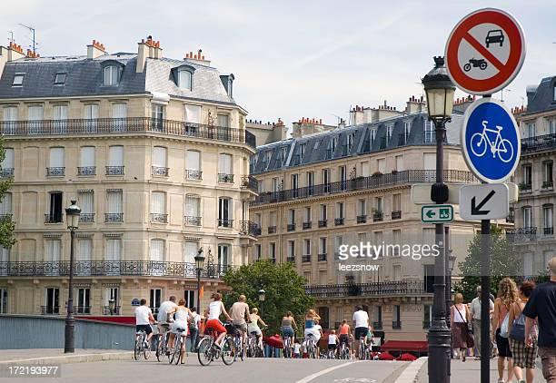 Balade en vélo à Paris