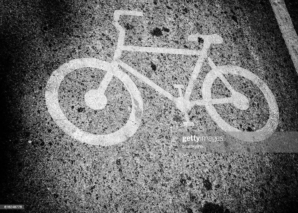 Bicycle road : Stock Photo