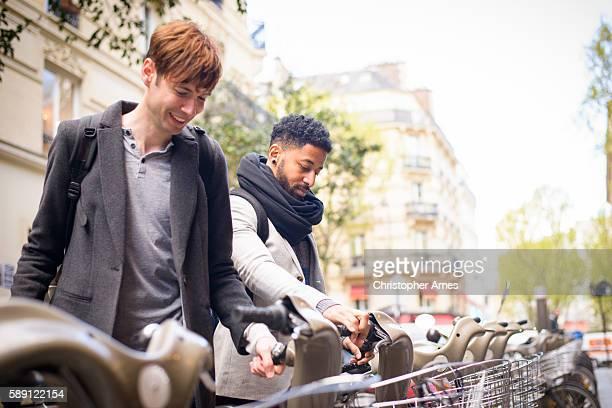 Bicycle Sharing Paris France