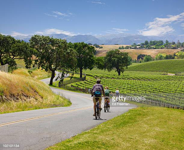 Bicycle Touring in Wine Country