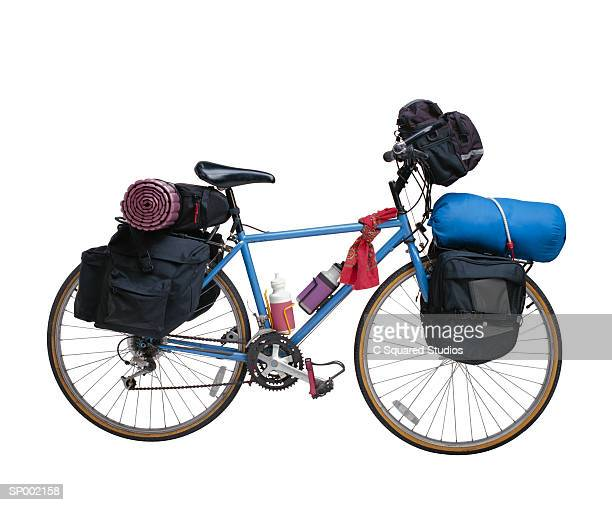 Bicycle with Camping Gear
