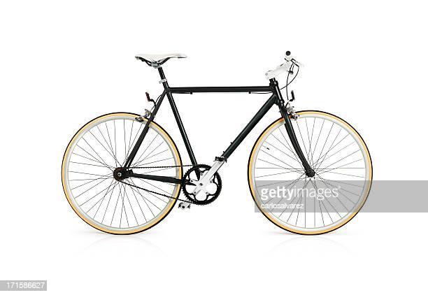 Bicicleta con trazado de recorte